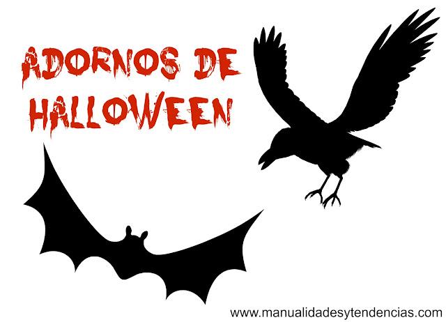 Manualidades y tendencias 5 ideas low cost para fiesta de - Adornos de halloween ...