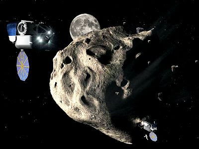 Moving an Asteroid To Orbit Moon