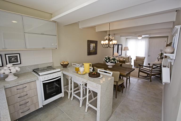 Casas decoradas cozinha linda for Ver interiores de casas pequenas