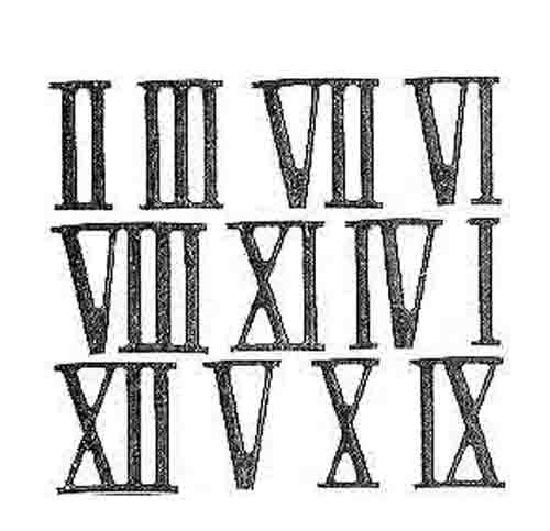 Roman Numerals For The XXIst Century