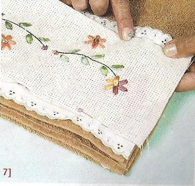 Como bordar en toallas lodijoella for Apliques para toallas