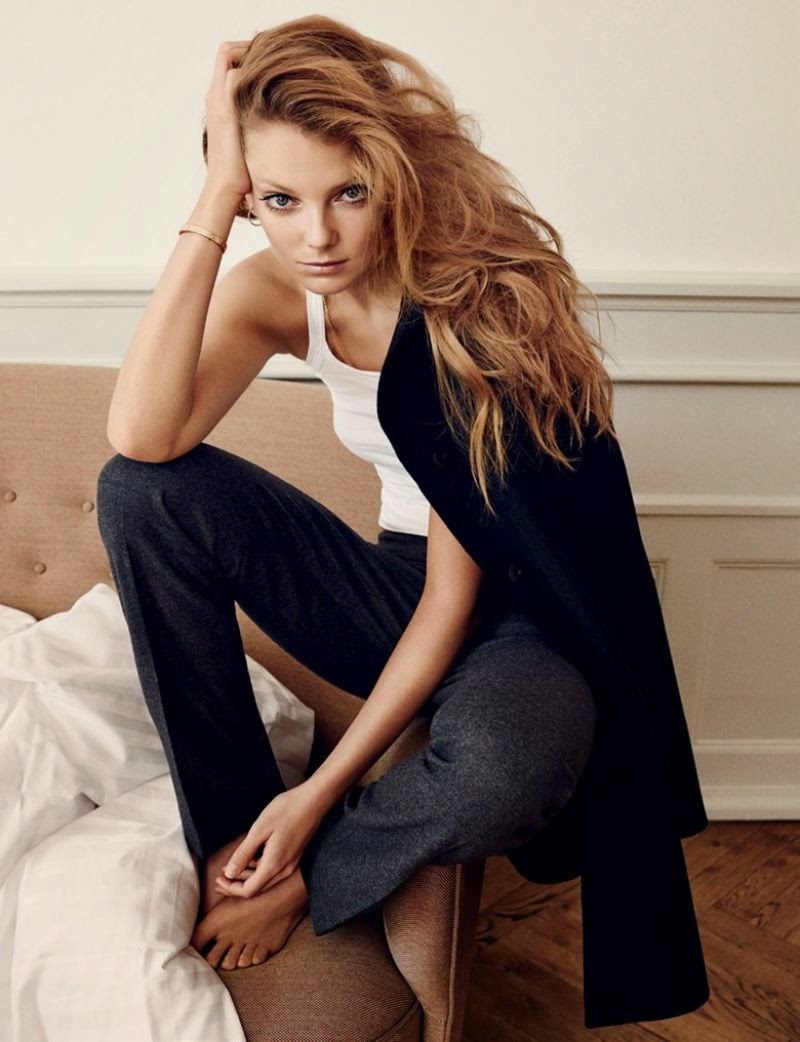 Eniko Mihalik - Cover Magazine Denmark September 2014
