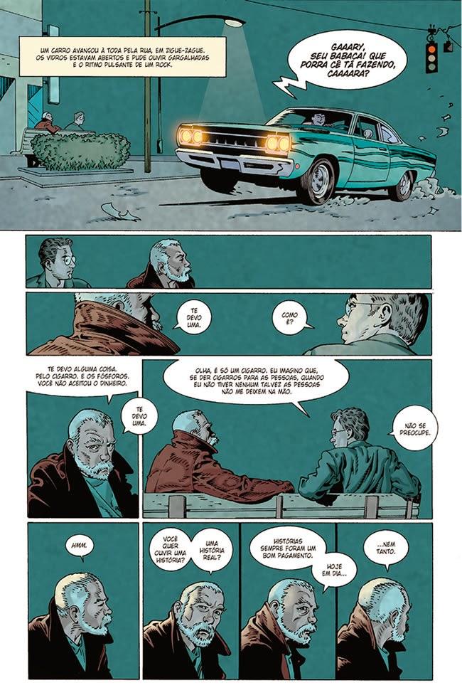 Chutando a Caneca: Mistérios Divinos - Adaptação do conto de Neil Gaiman  por P. Craig Russell