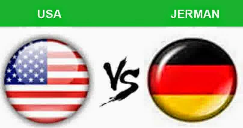 Perkiraan Hasil Akhir Laga Terakhir Fase Penyisihan Group G USA Vs German