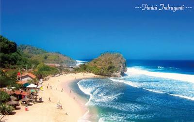 Image of Wisata Pantai Indrayanti Jogjakarta