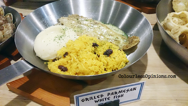 Fish & Co Malaysia Grilled Parmesan White Fish