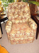Tropical Print Recliner