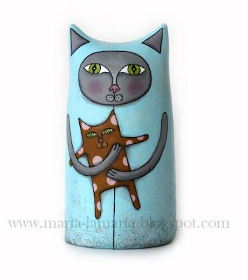 Kot Władimir z modeliny