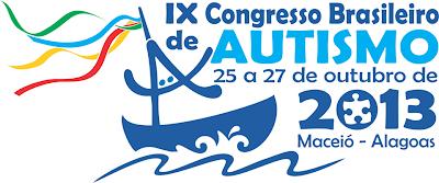 Cartaz do IX Congresso Brasileiro de Autismo