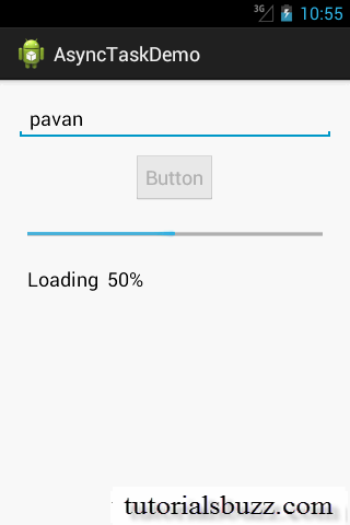 Android AsyncTask doBackground