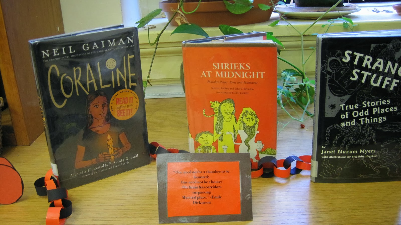 collections of short stories and nonfiction to offer many of them are on display around the library so take a look around or ask a librarian for your - Halloween Short Stories Middle School