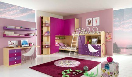 Dormitorios para ni os modernos ideas para decorar - Dormitorios infantiles modernos ...
