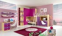 habitación para niños modernos