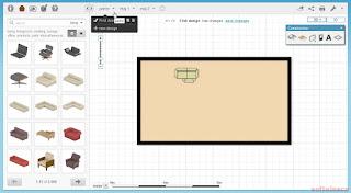 Proiectează-ţi casa online - Floorplanner - adaugare obiecte
