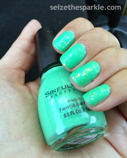 Sinful Colors Mint Tropics Matte Layering