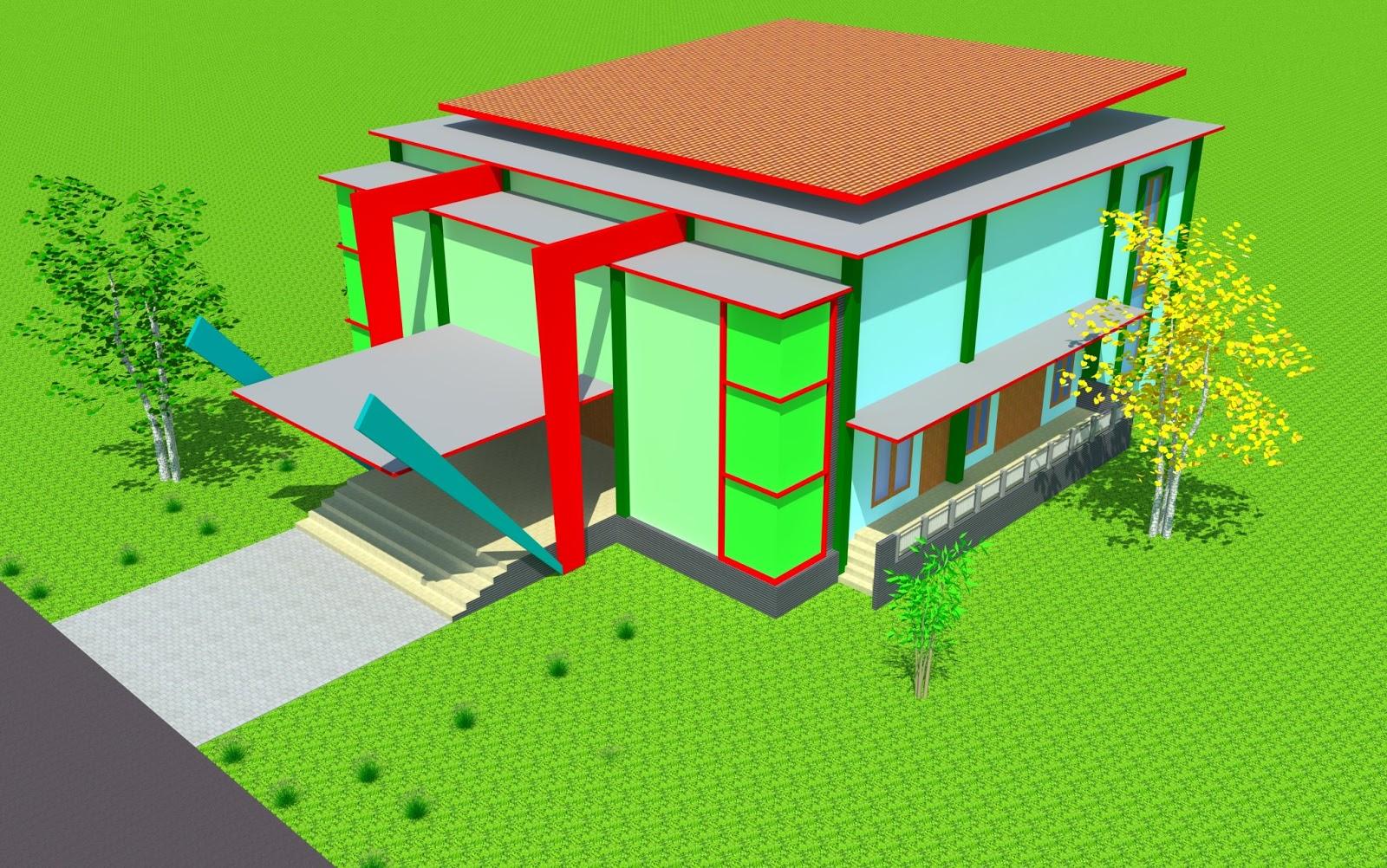 jasa desain gambar rumah toko jembatan dan bangunan