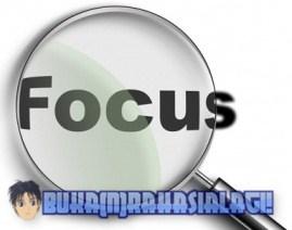 Fokus Menulis Artikel Blog