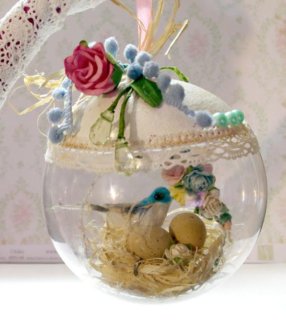 Новогодние шары своими руками скрапбукинг 66