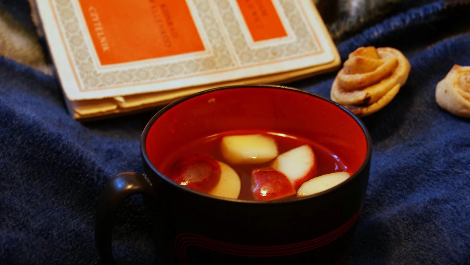 herbata jabłkowa imbirowa cynamonowa jesień