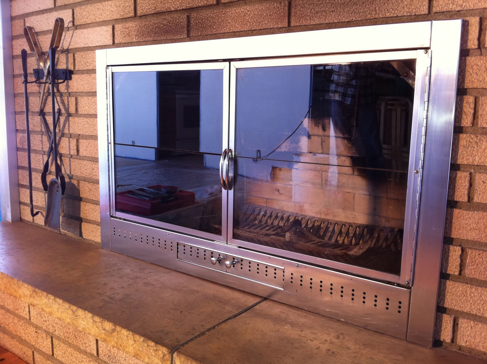 Fireplace Replacement Doors fireplace door glass replacement