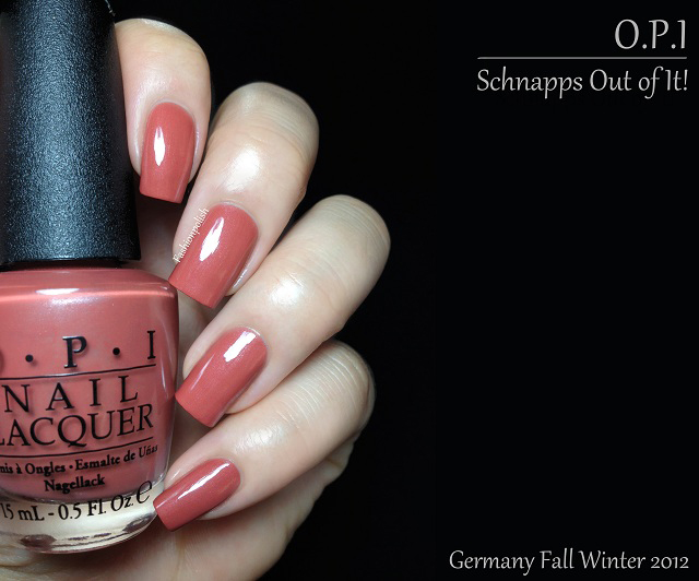 Opi Schnapps Out Of It Fashion Polish: Opi Ge...