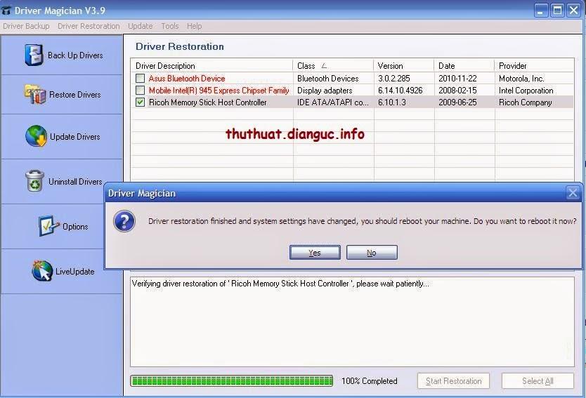 Download Driver Magician 4.0 Full Crack – Sao lưu, phục hồi Driver