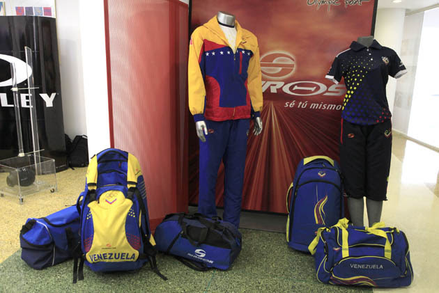 Venezuela United States olympic team uniform
