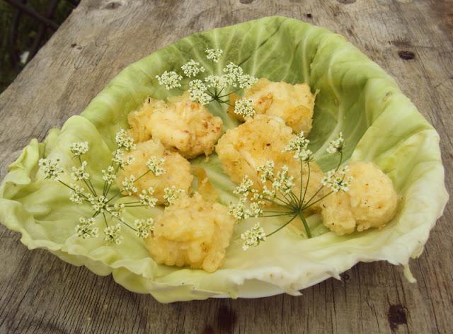 Kalafior smażony w cieście naleśnikowym