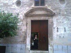 Entrada al edificio de calle San Miguel, 30 - Palma de Mallorca