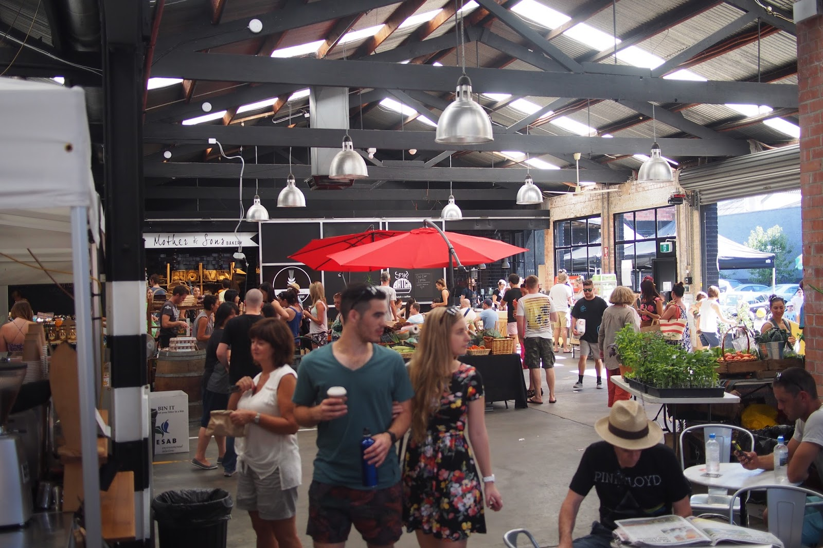 Adelaide, Market Shed On Holland, Farmers Market