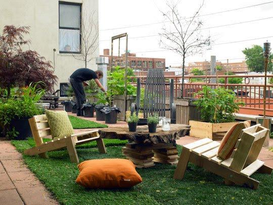 Essas poltronas de jardim garantem o conforto para longas horas de