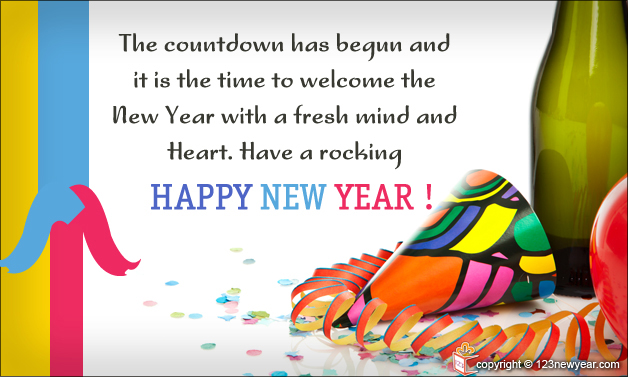 New Year Greeting Cards : 2015 New Year eCards | Happy New Year 2015