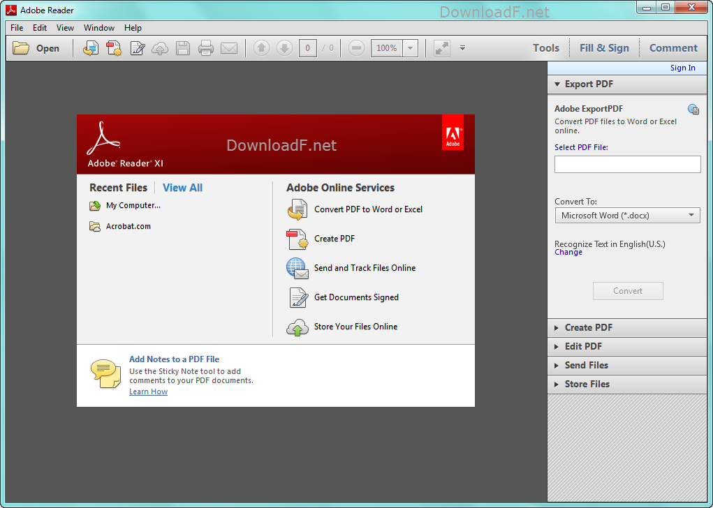 pdf reader for windows filehippo