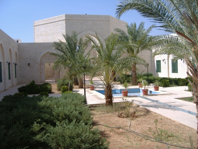 Shrine of Abu Ubayda in the Jordan Valley in Jordan