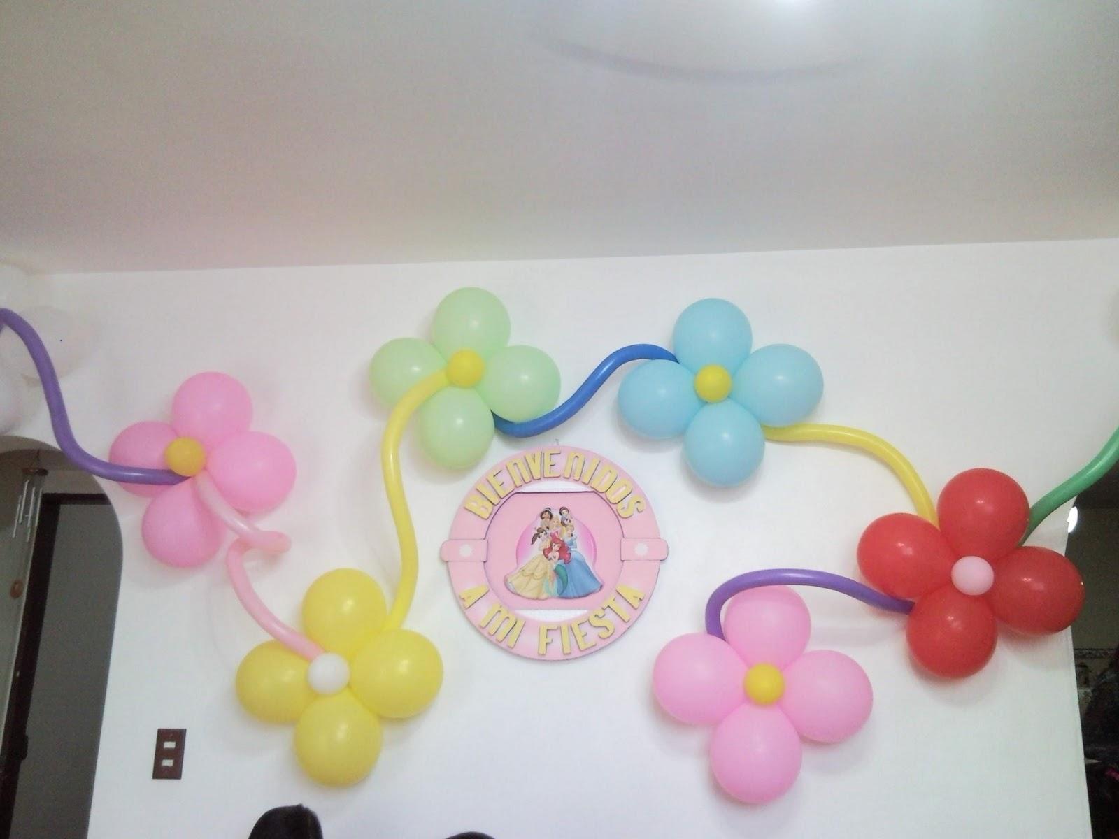 Decoracion de paredes con globos pictures to pin on for Decoracion de paredes