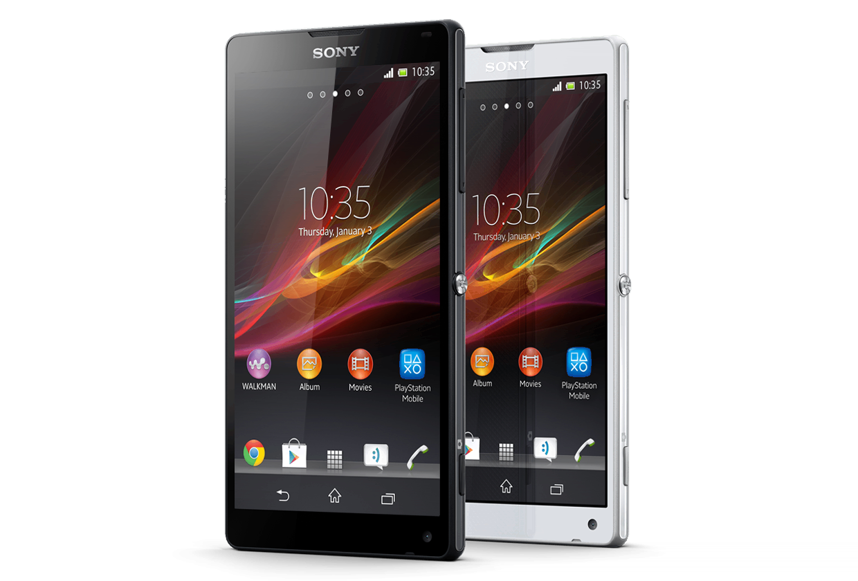 Xperia Zl Black Screen Smartphone: Sony Xperi...