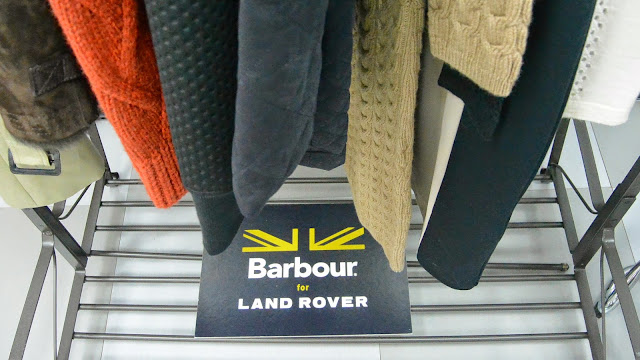 Barbour X Land Rover coleccion