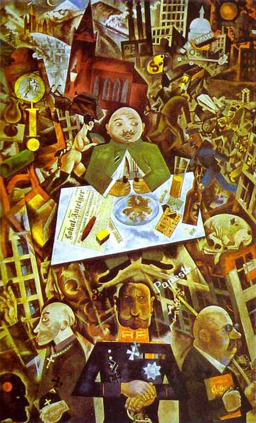 george grosz dada Artist page for george grosz (1893-1959)  played a prominent role in the berlin  dada movement 1917-20 and collaborated with john heartfield and raoul.