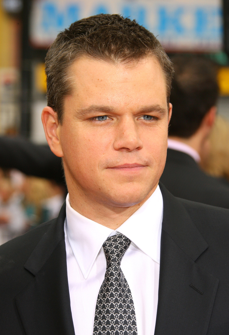 Matt Damon Hd Wallpapers High Definition Free Background