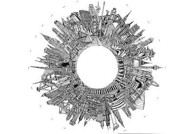 World Peace City. Illustrations by Edgar Gonzalez