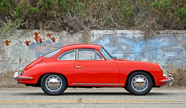 For Sale 1964 Porsche 356 Sc Red Coupe Buy Classic Volks