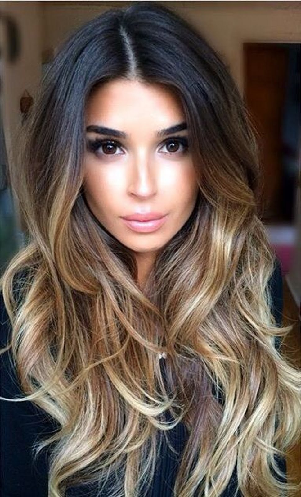 Haarfarbe dunkelblond: haare selber färben   gelbstich im haar ...