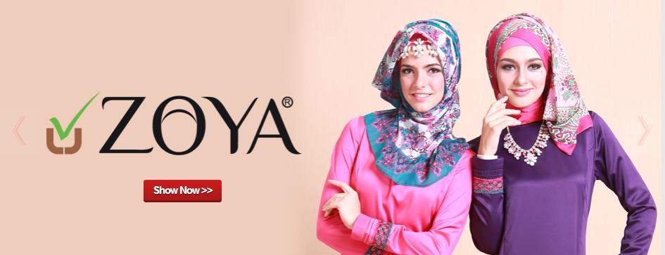 Toko Agen Jual Jilbab Zoya di Tangerang