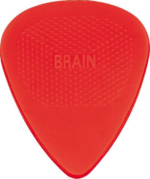 Snarling Dogs Brain Guitar Picks Purple  .60 mm 12 picks with Tin Box