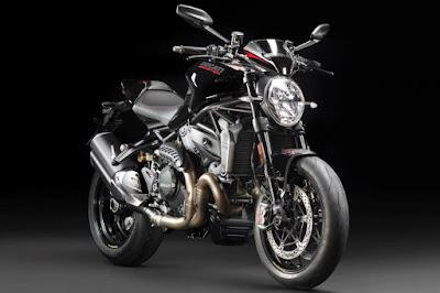 Ducati Monster 1200 R (2016) Front Side