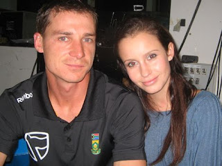 Dale Steyn with Girlfriend