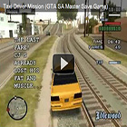GTA SA Master Save Game - Taxi Driver Mission