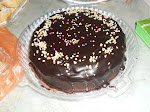 Kek Coklat Kukus+Coklat Ganache