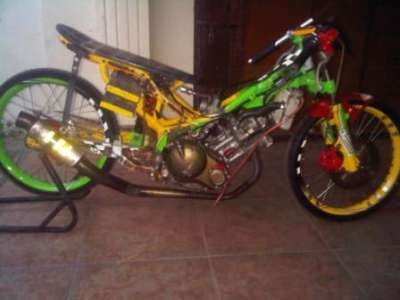 jupiter mx drag race modifikasi