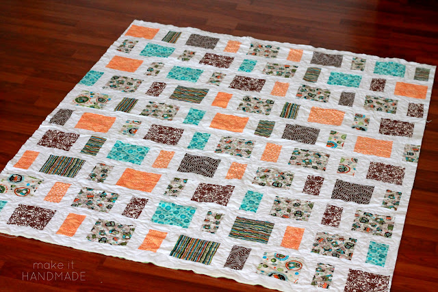 Leftovers Quilt By Make It Handmade